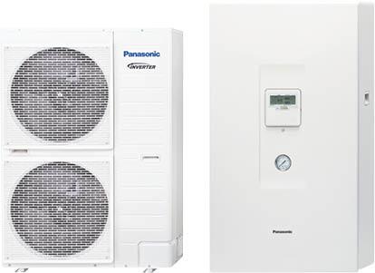 Panasonic KIT-WXC12H9E8 T-Cap High Capacity hőszivattyú (12 kW, 3 fázis)